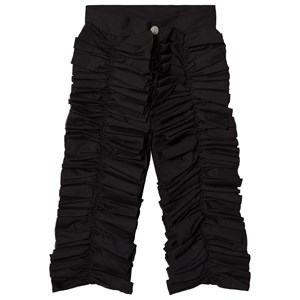 Image of Caroline Bosmans Black Pants with Frills 10 år (3057105647)