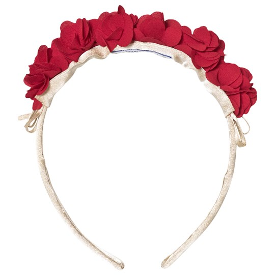 Mayoral Red Floral Headband 65