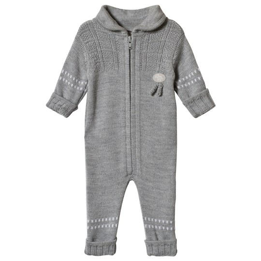 Lillelam Basic One-Piece Grey Mellomgrå