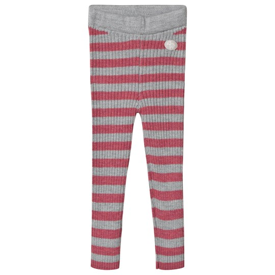 Lillelam Trousers rib stripes Cerise Cerise