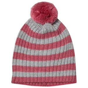 Image of Lillelam Hat Rib Stripes Cerise 48/50 cm (1157197)