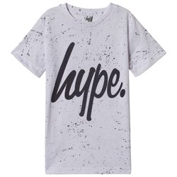 Hype White Speckle T-Shirt