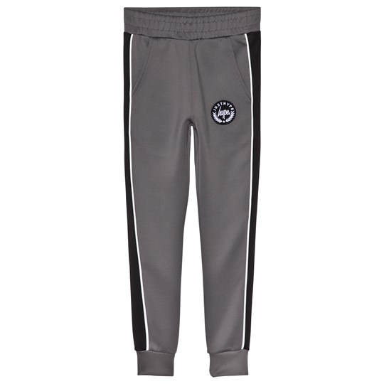 Hype Grey and Black Poly Track Pantss GREY/BLACK