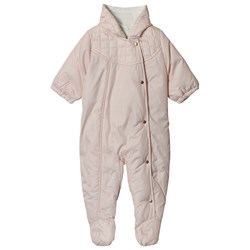 Carrément Beau Pale Pink Hooded Coverall
