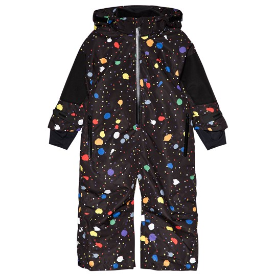 Stella McCartney Kids Blizzard Snow Suit Black 1084 - Spotty Multicolor Pr