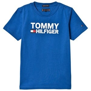 Image of Tommy Hilfiger Blue Tommy Branded Tee 4 years (3057109243)