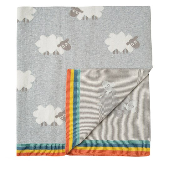 Frugi Snug as a Bug Blanket Little Lambs Little Lambs_AW18