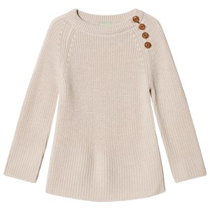 Image of FUB Rib Sweater Ecru 90 cm (1,5-2 år) (3057106229)