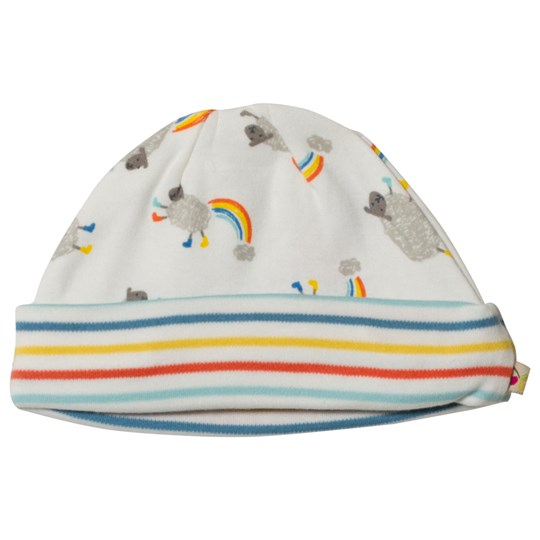 Frugi Multi Color Little Lambs Dinky Hat Little Lambs_AW18