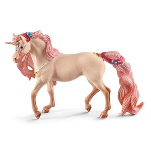 Image of Schleich Decorated Unicorn Mare 3+ years (3057462325)