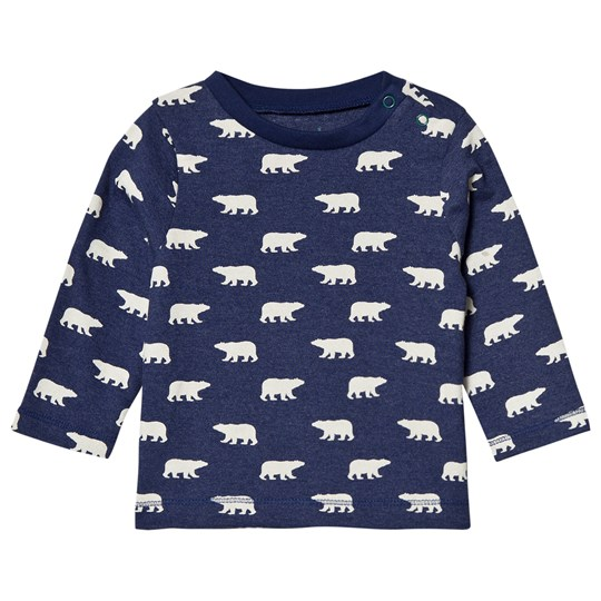 Hatley Blue Polar Bear Long Sleeve Tee Blue