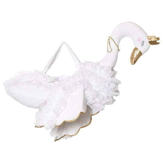 Travis White Glide On Swan White, gold