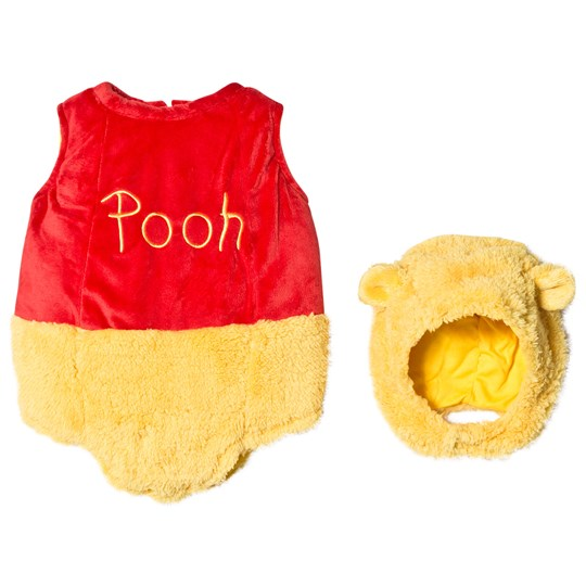 Travis Yellow and Red Winnie the Pooh Tabard with Feature Hat Yellow, red