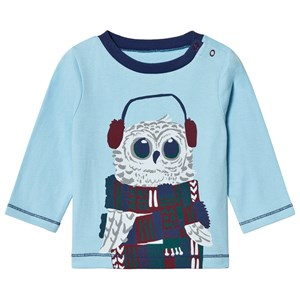 Image of Hatley Blue Owl Long Sleeve Tee 6-9 mdr (1117482)