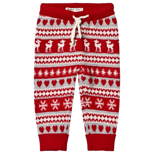 Hatley Red Fawn Leggings Red