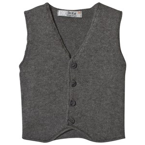 Image of Dr Kid Grey Knitted Waistcoat 6 months (3057462887)