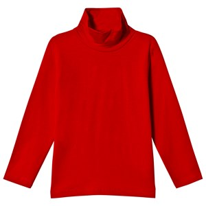 Image of Dr Kid Red Roll Neck Long Sleeve Top 12 år (1155529)