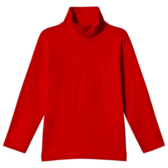 Dr Kid Red Roll Neck Long Sleeve Top 160