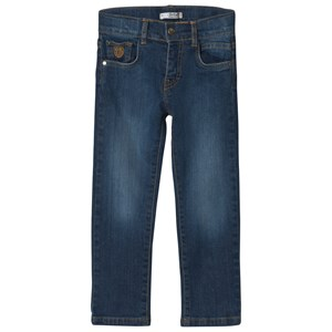 Image of Dr Kid Blue Mid Wash Jeans 10 år (1155615)