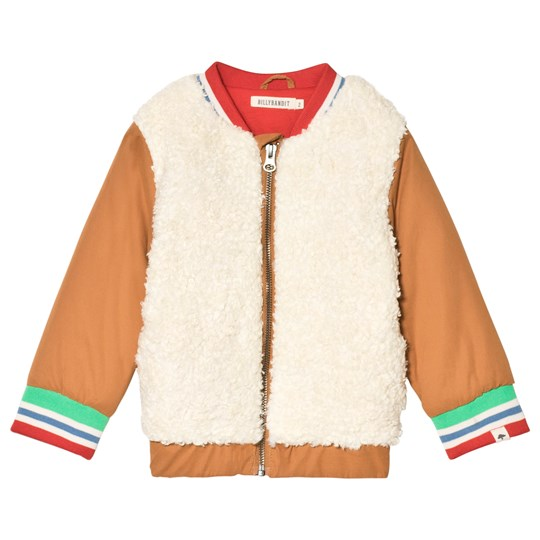 Billybandit Cream Teddy Fleece Tiger Jacket N22