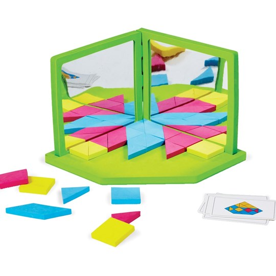Edushape Magic Symmetry Mirror Green