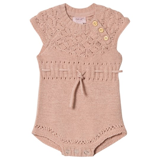 Noa Noa Miniature Baby Body Short Sleeve Cameo Rose Cameo Rose