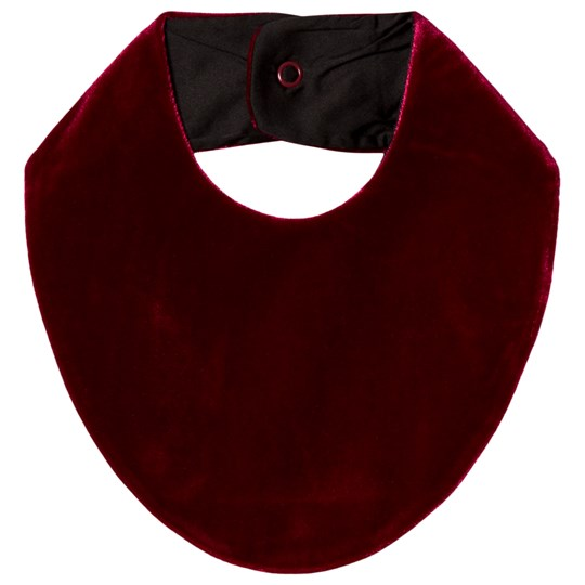 The Tiny Universe The Tiny Bib Sealskin Real Red Sealskin Real Red