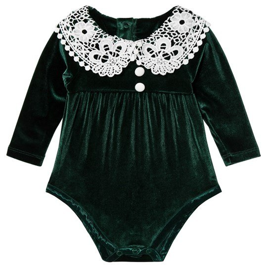 The Tiny Universe The Tiny Victorian Baby Body Deep Green Deep Green