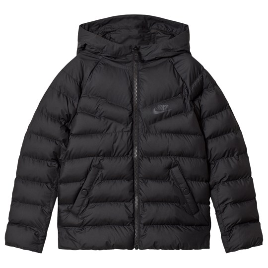 NIKE Black Hooded Jacket 010
