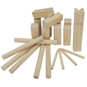 Image of Play Kubb in Wood 5+ years (3057830603)