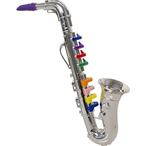 Image of Play Saxofon, Silver, 35 cm 3 - 10 years (3057832437)