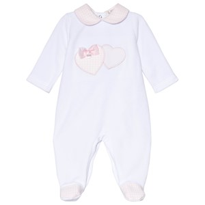 Image of Mintini Baby Cream and Pink Footed Baby Body 6 mdr (3057831637)