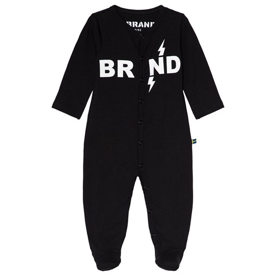 The BRAND Baby One-Piece Black