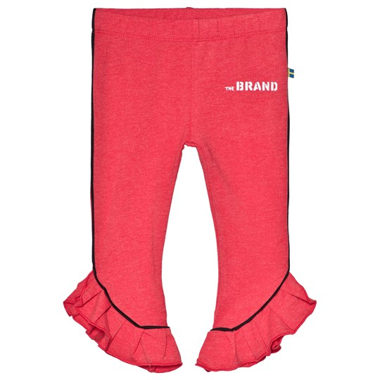 The BRAND Flounce Leggings Red Melange