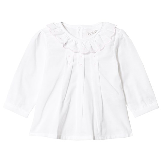 Dr Kid White Embroidered Shirt 000