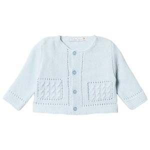 Image of Dr Kid Blue Knitted Cardigan 24 months (3057830845)