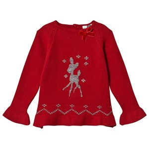 Image of Dr Kid Red Deer Sweater 6 years (3057831119)