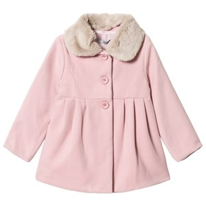 Image of Dr Kid Pink Faux Fur Collar Coat 12 years (1155419)