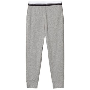 Image of Calvin Klein Grey Heather Branded Sweatpants 12-14 years (3057830661)