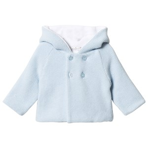 Image of Dr Kid Blue Hooded Cardigan 1 month (3057830811)
