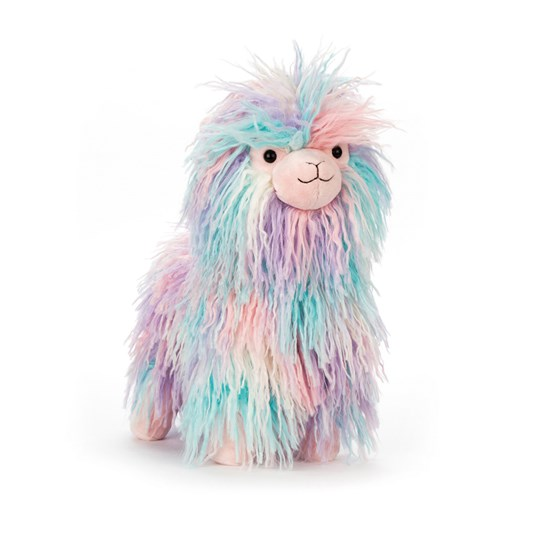 Jellycat Lovely Llama Medium, 32cm Purple