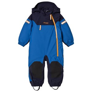 Image of Bergans Athens Blue / Navy Ruffen Insulated Snowsuit 80 cm (9-12 mdr) (3057831665)