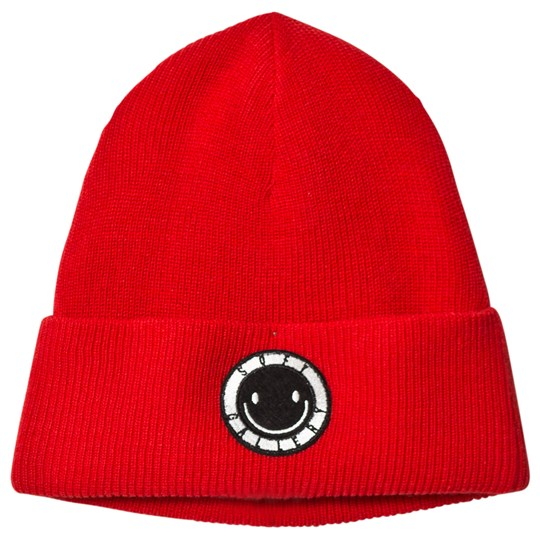 Soft Gallery Boo Hat Smiley Logo Flame Scarlet Flame Scarlet