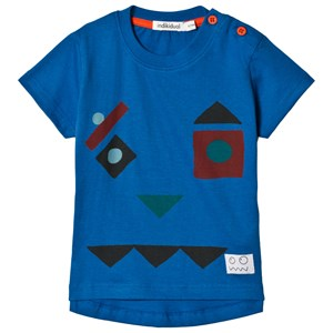 Image of Indikidual Blue Face T-shirt 12-24 months (3058026523)