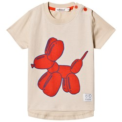 Indikidual Stone Printed Balloon Dog T-shirt