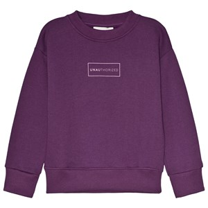 Image of Unauthorized Aksel Sweatshirt Grape Royale 10år/140cm (3057829951)