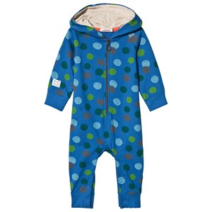 Image of Indikidual Blue with Multi Pattern One-Piece 12-24 months (3058026793)