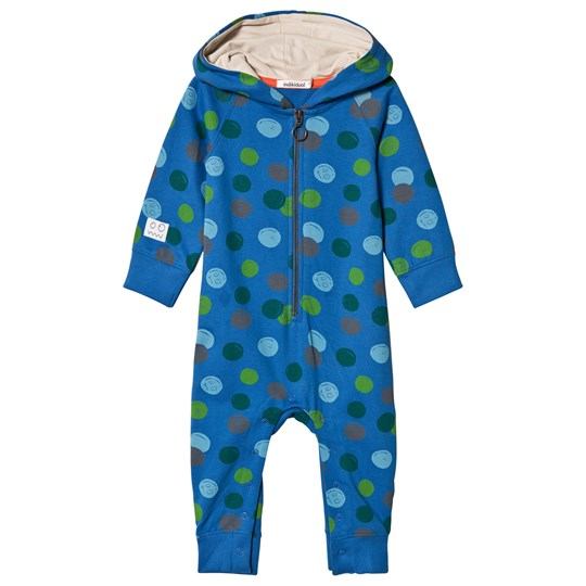 Indikidual Blue with Multi Pattern One-Piece Blue