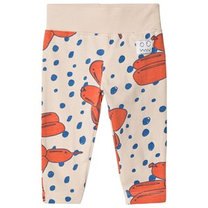 Image of Indikidual Stone and Red Balloon Dog Leggings 6-7 years (3058026907)