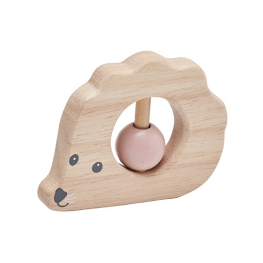 Kids Concept Edvin Hedgehog Rattle Natural